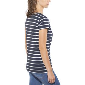 Elkline Anna T-Shirt Women blueshadow-white